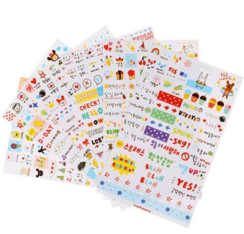 Sticker Life Calendar Diary Planner Decoration Labels Scrapbook Journal Decal