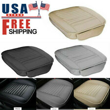 Pu Leather Car Front Cover Cushion Seat Protector Half Full Surround Universal