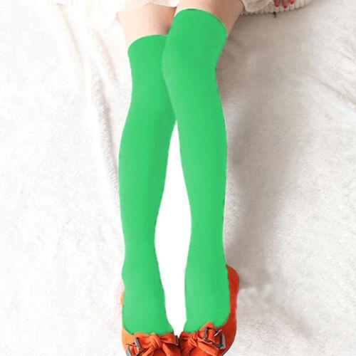 Women Knit Long Pile Boots Socks Over Knee Thigh High School Girl Stocking