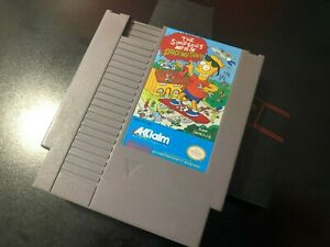 NES Nintendo Simpsons Bart Vs. The Space Mutants - You shouldn't have hit Select