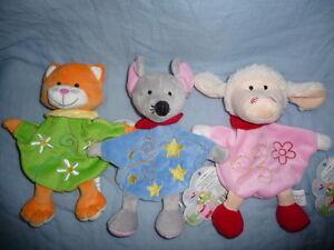 Erste Tier Handpuppe für kleine Kinder auch Schmusetuch,Be<wbr/>leduc, div.zur Auswahl