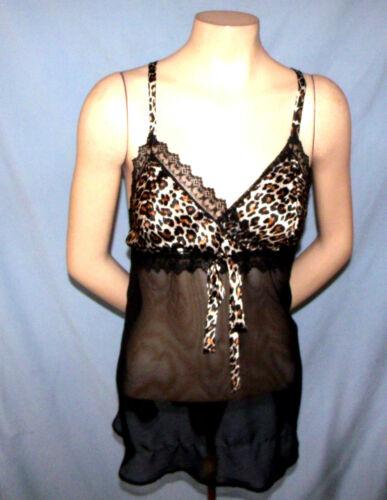 Night Magic PSS* Baby Doll Nightgown Size Medium (
