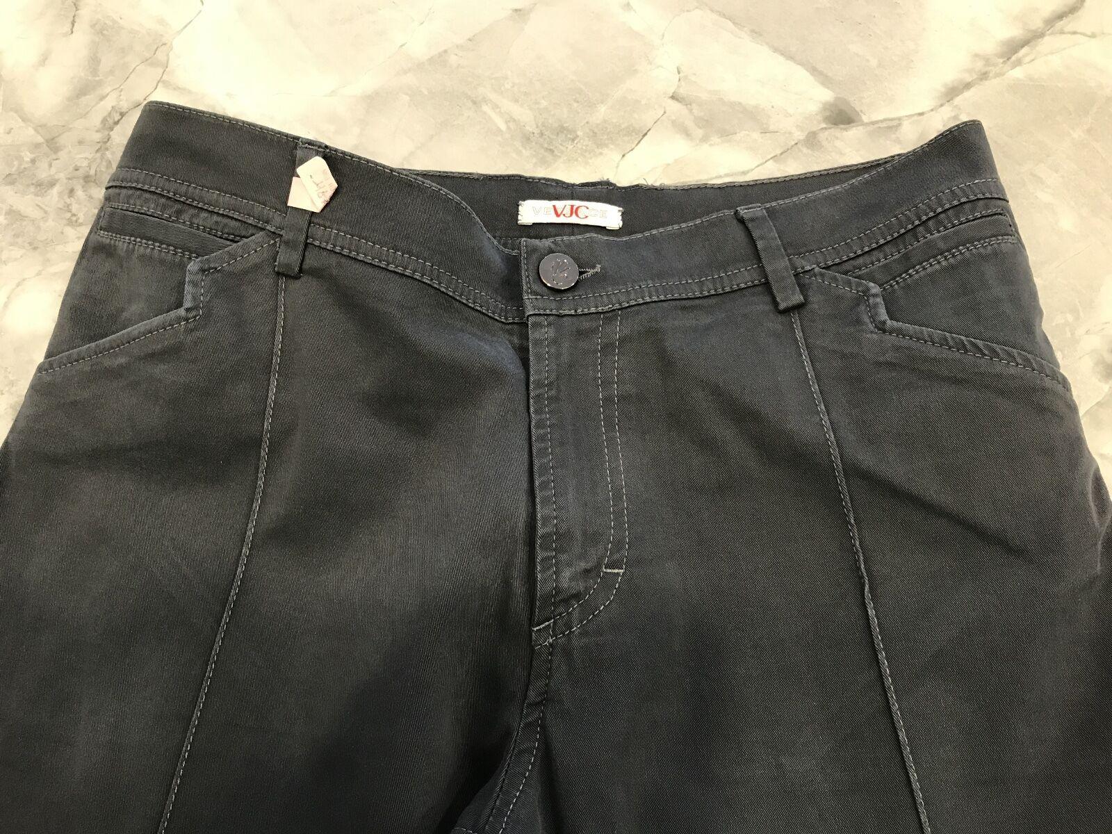 Versace Men's Pants Grey 34 48 100% Authentic