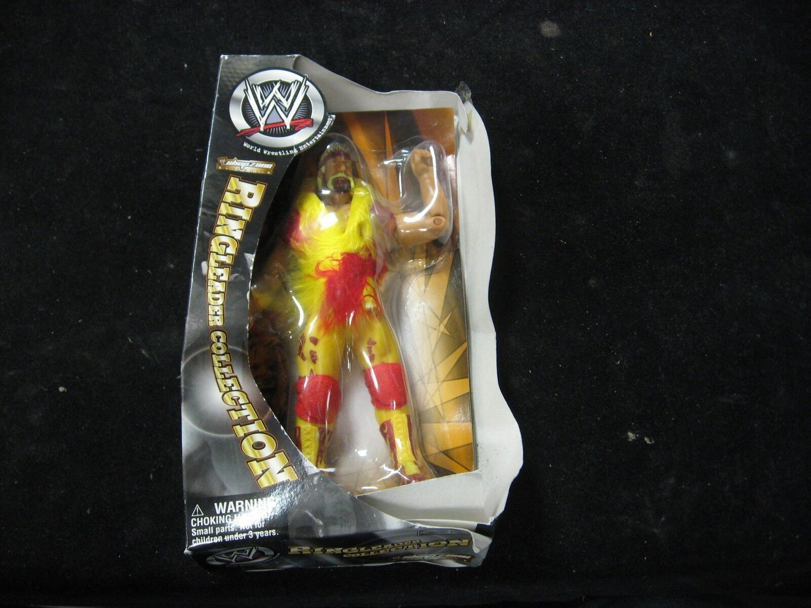 2002 WWE Shop Zone Exclusive Ringleader Collection Hulk Hogan Action Figure New