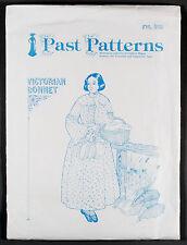 Past Patterns VICTORIAN BONNET Sewing Pattern - Historical Woman's Hat Sunbonnet