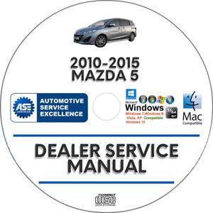 Mazda 5 2010-2015 Factory Service Repair Manual