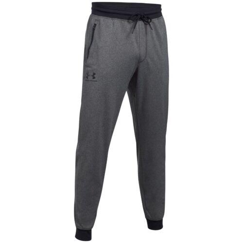 Under Armour Sport style jogger señores aerobic ocio pantalones carbon 1290261-090