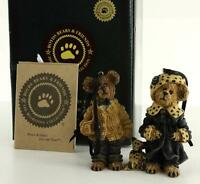 1995 Boyds Bears Bearstone Collection Ornaments Bailey And Matthew 9228rsn