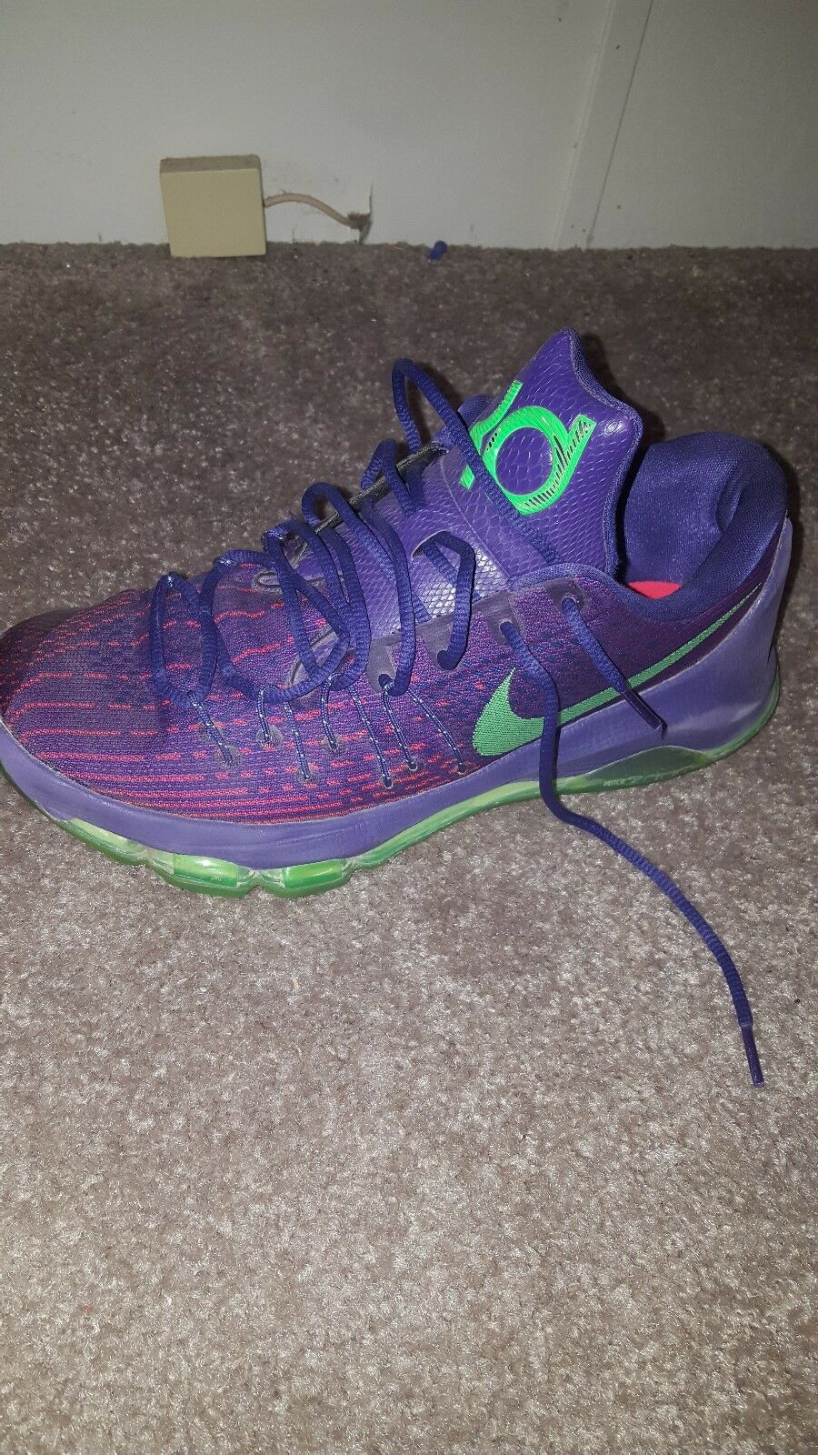official photos 04840 59a1f MEN'S NIKE KD 8 VIII KEVIN KEVIN KEVIN DURANT SHOES purple ...
