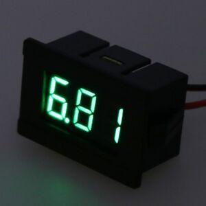 DC-2-Wires-4-5-30V-Mini-LED-Digital-Display-Voltmeter-Volt-Voltage-Panel-Meter