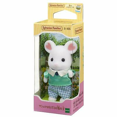 EPOCH Sylvanian Families Marshmallow mouse triplets baby from Japan*