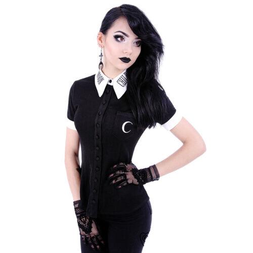 Shirt Child Occult Restyle Gothic Lunar Moon xvHESwR