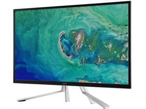 """Acer ET322QK wmiipx 32"""" (Actual size 31.5"""") Ultra HD 3840 x 2160 4K 60Hz 2 x HDM"""
