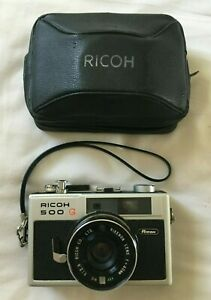 RICOH-500-G-35mm-camera-with-case-Condition-used