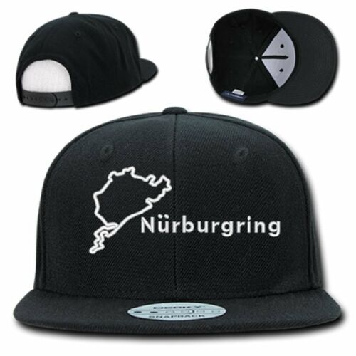 Nurburgring Track Casquette Snap Back Embroidery Trucker Circuit Allemagne F1 F-1