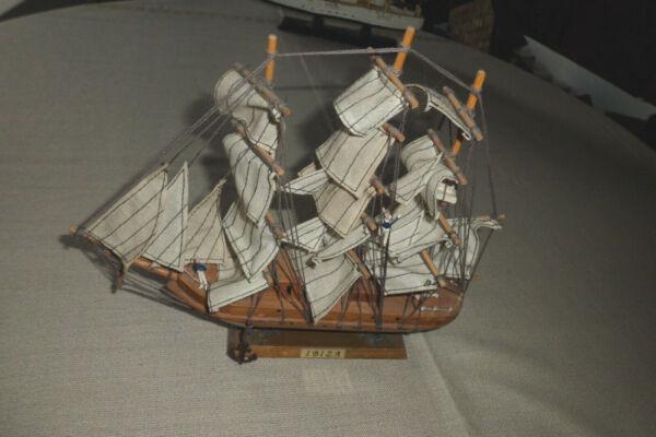 """Der GüNstigste Preis Schiffsmodell """"ibiza"""", Holz, Ca. 25 Cm Lang, Ca. 22 Cm Hoch, Dreimastbark Verbraucher Zuerst"""