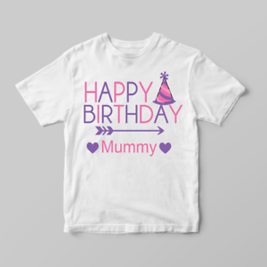 Image Is Loading Happy Birthday Mummy Party Hat Girls Children 039