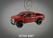 NEW 2015 Ford F150 Crew Cab Ext Pickup Christmas Ornament 1/64 emblem F-150