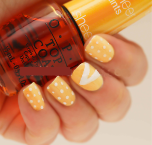 Details about OPI Sheer Tints I'M NEVER AMBERRASSED Yellow Top Coat Nail  Polish Lacquer Clear
