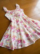 NWT LIZ LISA Floral Lace-up JSK Jumper Dress Hime Sweet Lolita Kawaii Japan