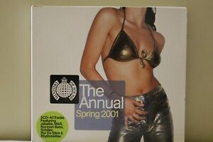 Ministry-of-Sound-The-Annual-Spring-2001-2-CD-Royal-Mail-1st-Class-FAST-amp-FREE