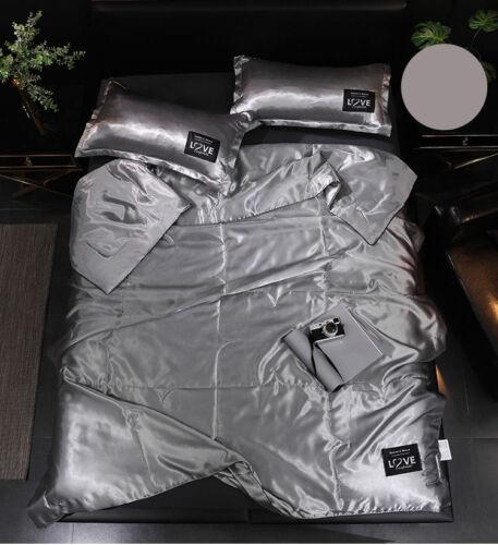 Silk Feelling Comforter Quilt Duvet Coverlet Blanket Light Breath Summer Saviour