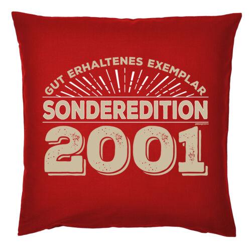 PROMOClÓN 2001-19 cumpleaños almohada-gracioso proverbios almohada 19 años
