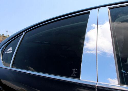Fits Mercury Mountaineer 02-10 with keypad Chrome Mirror B-Pillar Door Pillar Co
