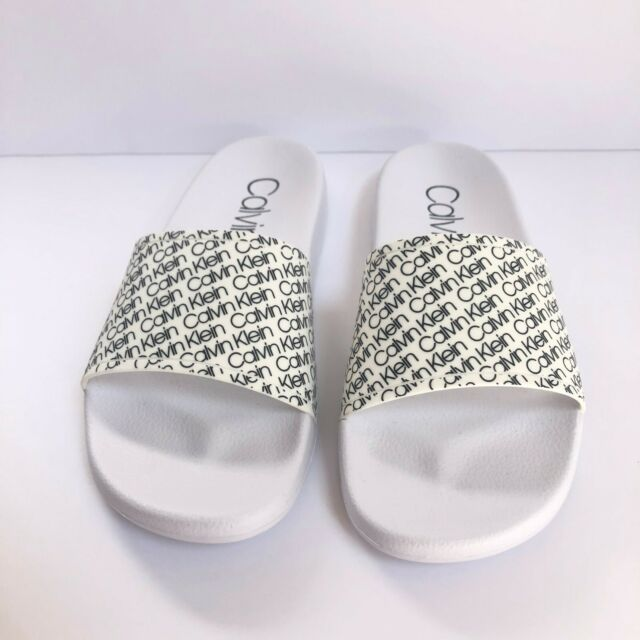 PUMA Women Slides Flip Flops Grey With