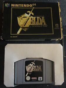 N64 ZELDA OCARINA OF TIME + BOOKLET + Box