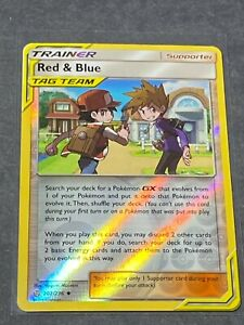 Uncommon Cosmic Eclipse 202//236 Red /& Blue Reverse Holo
