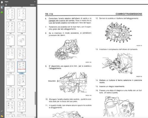 Hyundai Coupe Tiburon II 2002-2007 Workshop Manual Workshop Manual