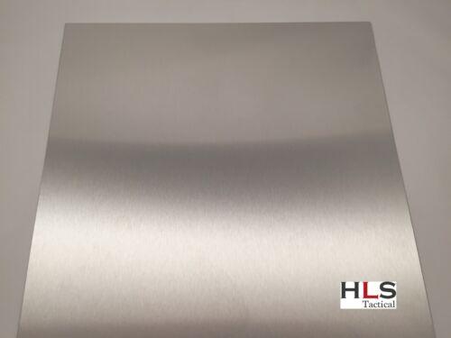 800mm x 800mm x 3mm Edelstahl Blech Edelstahlplatte Platte gebürstet K240