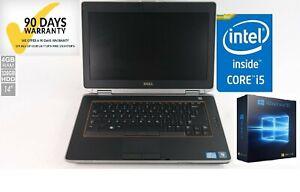 Dell Latitude E6420 Intel Core i5 2.50GHz 4GB 320GB Windows 10 Pro DVD/RW WIFI