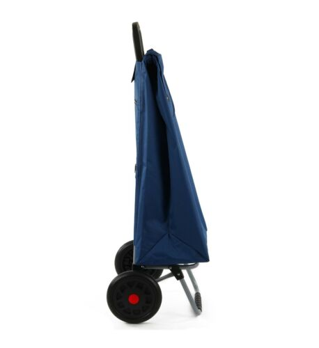 67L Large Lightweight Wheeled Shopping Trolley Push Cart Bag with Wheels New