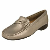 Globo Ladies Leather Shoes - Ascot