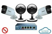 Uniden UC4202 4-Camera 1080p Indoor/Outdoor Security Cloud System with 5-Port Po
