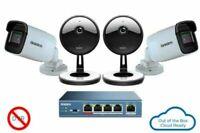Uniden 4-Camera 1080p Indoor/Outdoor Security System