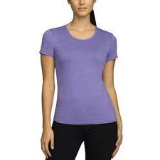 Women Weatherproof 32 Degrees Cool Short Sleeve Scoop Neck Shirt ...