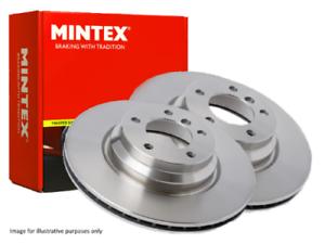 2X Discs Nouveau Mintex-Front-Disques De Frein MDC1641-Gratuit Livraison Le Jour Suivant