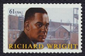 #4386 61c Richard Wright, Nuevo Cualquier 5=