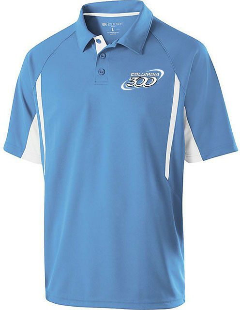 Columbia 300 Men's Messenger Performance Polo Bowling Shirt University bluee