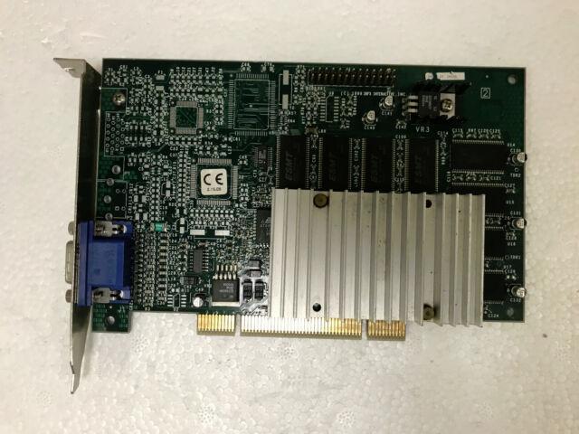 ekv001 Retro Vintage VGA 1pc 3dfx Voodoo3 3000 PCI rev.D 16Mb OEM NOS Tested