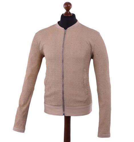 en Veste cuir nappa Veste Gabbana 04553 cuir stretch en Veste Dolce beige qYCS5