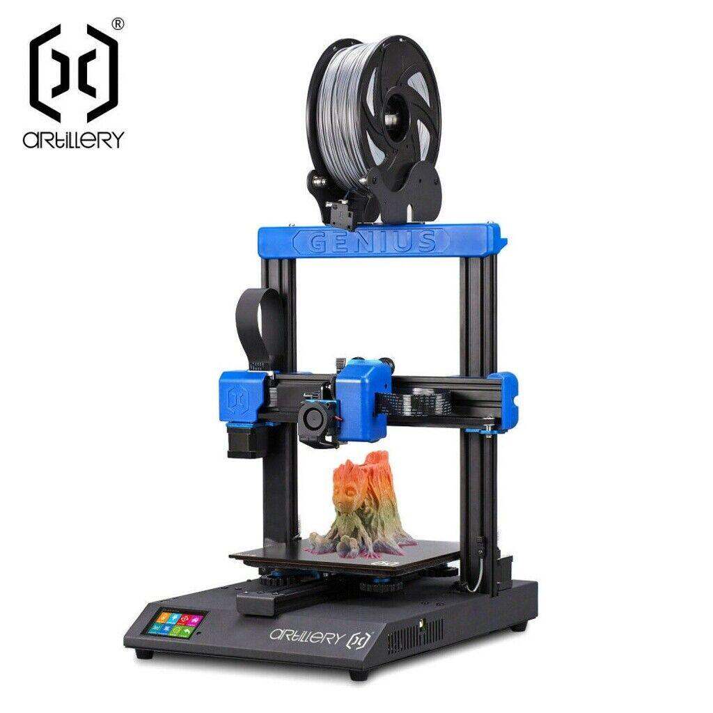 Artillery Genius 3D Printer Dual Z System Fast Heating 220*220*250mm Printing US artillery dual fast genius heating printer printing system