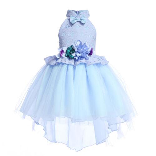 Baby Dress Girl Princess Kid Party Wedding Bridesmaid Formal Tutu Dresses Gifts