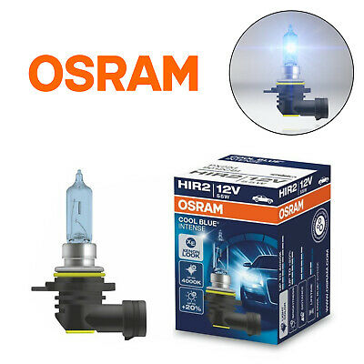 OSRAM HIR2 12V 55W Cool Blue Intense Halogen Car Headlight Bulb Main Beam PX22s