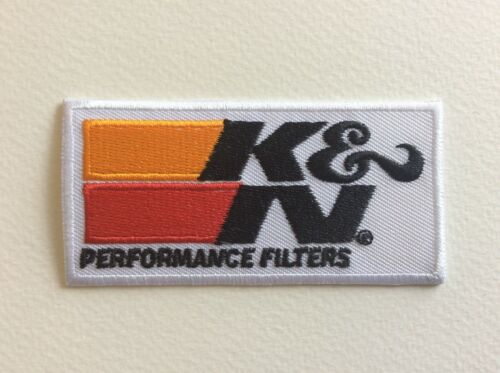 8*4 CM A269 //// ECUSSON PATCH AUFNAHER TOPPA K /& N FILTERS NEUF