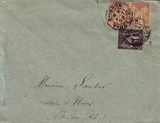 SAGE - 2c + 1c - LETTRE D'AVIGNON VAUCLUSE DU 8-7-1902 POUR NOVES BOUCHES DU RHO