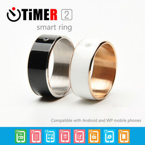 TimeR-RING-MJ02-NFC-Magie-Sperre-Visitenkarte-Zirkon-Smart-Ring-fuer-Samsung-HTC